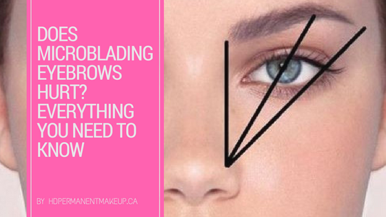 Does Microblading Eyebrows Hurt? Everything You Need to Know