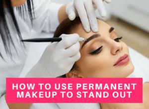 Professional permanent makeup