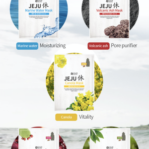 jeju face sheet masks