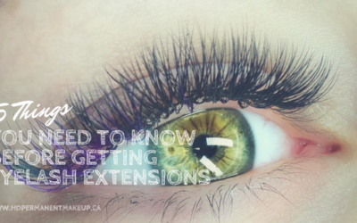5 Things You Need to Know Before Getting Eyelash Extensions