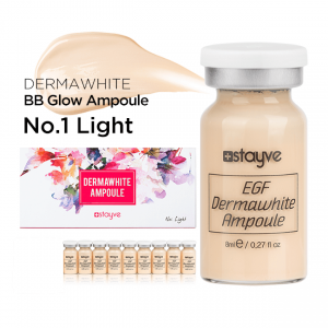 Dermawhite BB Glow Ampule - Foundation No. 1 Light - Stayve Meso