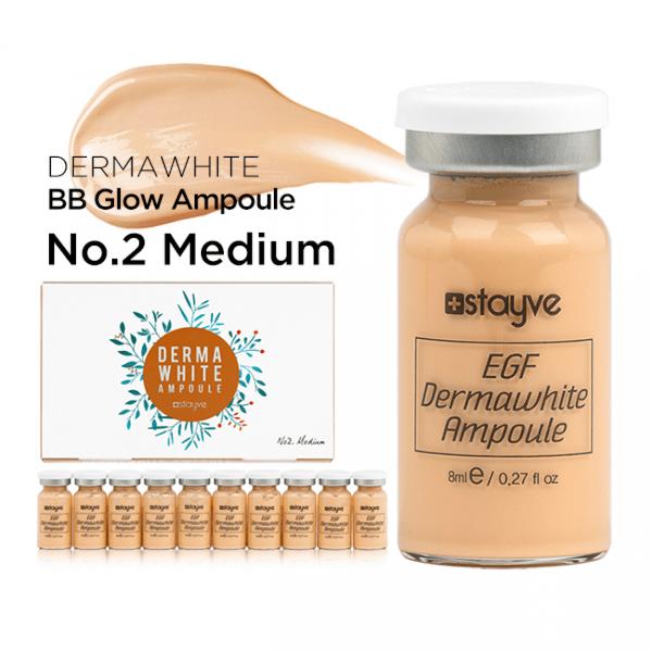 Dermawhite Foundation No. 2 – Medium - Stayve Meso