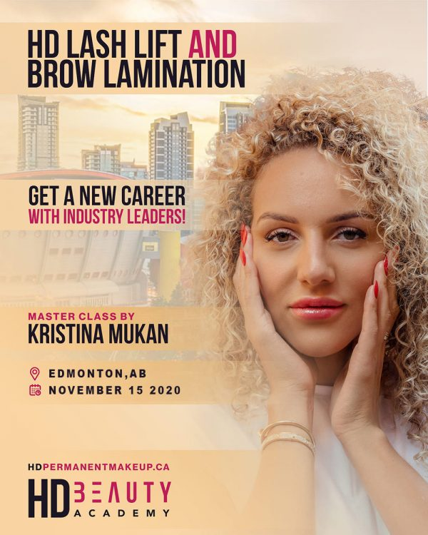 HD LASH LIFT AND BROW LAMINATION – EDMONTON, AB