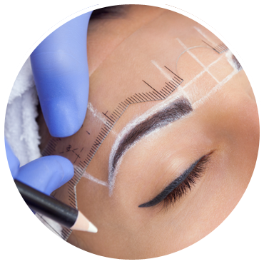 Microblading procedure training