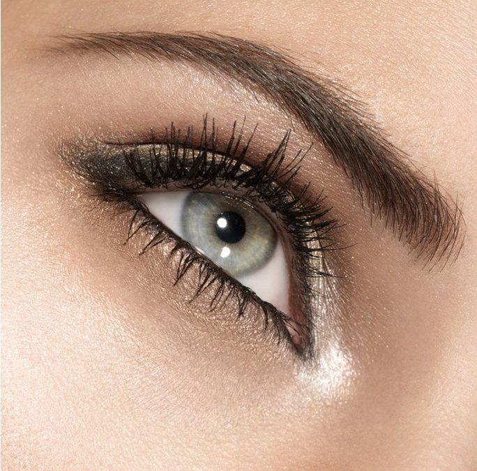Close up of girls eyes
