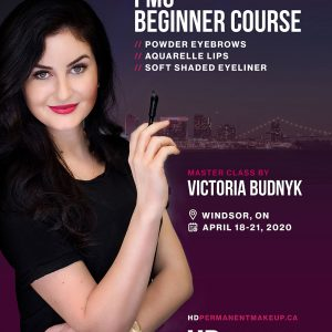 Permanent Makeup Beginner Master Class