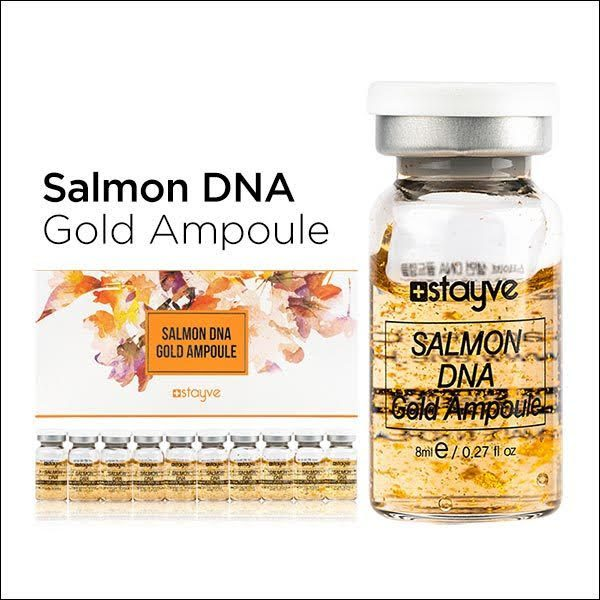 Stayve Salmon DNA Gold Ampoule - 1 Ampoule Of 8ml